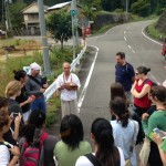 on the road in Kumano Abby